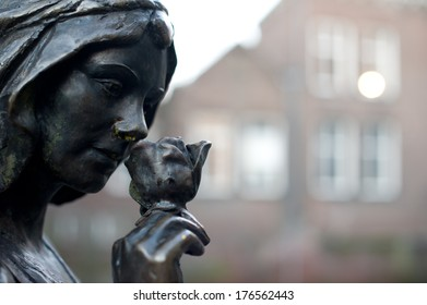 Jeroen Bosch, the most famous person in 's-Hertogenbosch created this statue