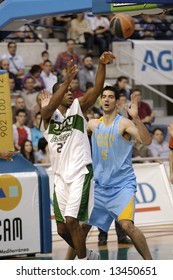 Jerome Moiso and Juanjo Triguero