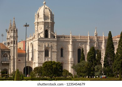 Jeronimos monastery in Belem, Lisbon, Portugal.