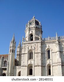 Jeronimos Monastery in Lisbon, Portugal