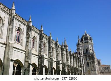 Jeronimos Monastery. Lisbon, Portugal.