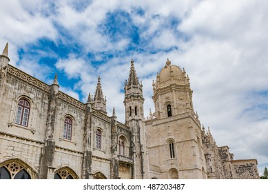 The Jeronimos Monastery in Lisbon, Portugal - A UNESCO World Heritage