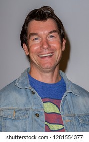 """Jerry O'Connell attends the world premiere of """"Reign of the Supermen"""" on Jan. 10, 2019 at The Paley Center for Media in Beverly Hills, CA"""