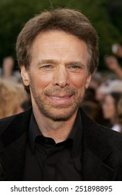 """Jerry Bruckheimer attends the World Premiere of """"Pirates of the Caribbean: At World's End"""" held at Disneyland in Anaheim, California on May 19, 2007."""