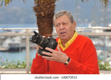 """Jerry Lewis at photocall for his movie """"Max Rose"""" at the 66th Festival de Cannes. May 23, 2013  Cannes, France"""