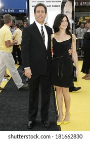 Jerry Seinfeld, Jessica Sklar at Los Angeles Premiere of BEE MOVIE, Mann's Village Theatre, Los Angeles, CA, October 28, 2007