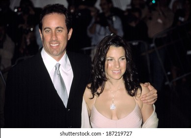 Jerry Seinfeld and wife Jessica at Metropolitan Museum of Art Goddess Gala, NY 4/28/2003