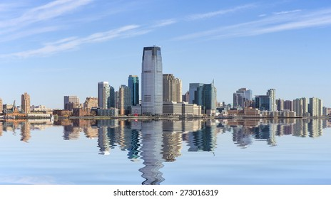 Jersey City in New Jersey, USA