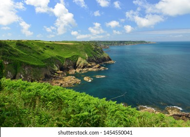 Jersey, U.K. The islands North-coast.