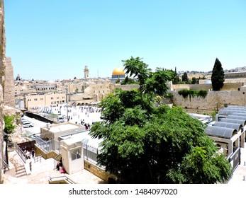 Jerusalem beautiful old city view