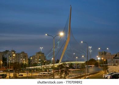 Jerusalem chord bridge