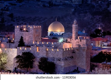 Jerusalem city of three religions.
