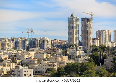 Jerusalem construction of new tall buildings