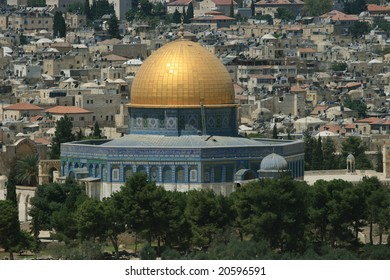 Jerusalem and the cupola of the rock