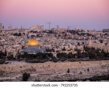 Jerusalem at Dusk - old city