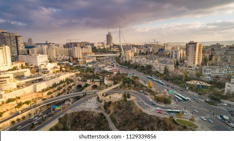 Jerusalem, Israel - 20 December, 2016: The main entrance to Jerusalem.