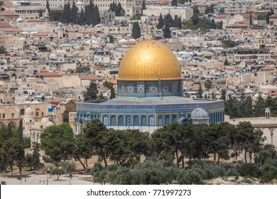Jerusalem, Israel, Dome of the Rock, Temple  Mount, old city