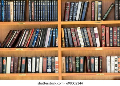 JERUSALEM, ISRAEL - Holy books near the Western Wall  Jerusalem, Israel, on August 29, 2014