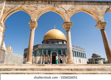 Jerusalem, Israel - July 7 2018 : Dome of the Rock
