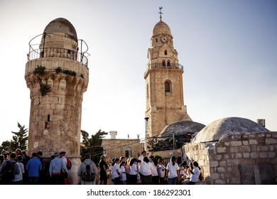 JERUSALEM, ISRAEL - MARCH 22, 2014: Holy city Jerusalem on March 22, 2014, Israel