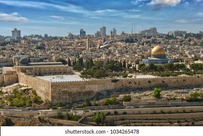 Jerusalem Israel Temple Mount Dome of the ROck