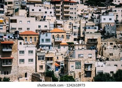Jerusalem neighbourhood architecture