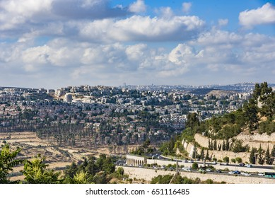 Jerusalem new residential area New Panorama Ramot Alon
