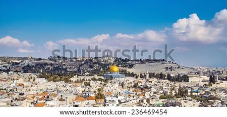 Jerusalem old sity and