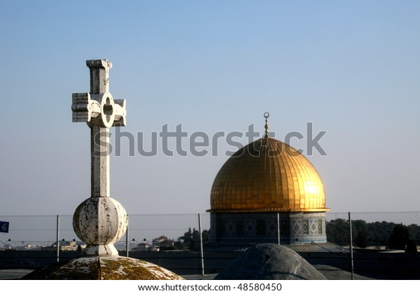 Jerusalem symbols of faiths