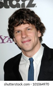 Jesse Eisenberg  at the 14th Annual Hollywood Awards Gala, Beverly Hilton Hotel, Beverly Hills, CA. 10-25-10