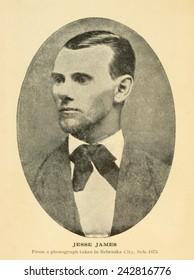 Jesse James (1847-1882).