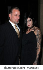 "Jesse James and Kat Von D at the L.A. Gay and Lesbian Center's ""An Evening With Women,"" Beverly Hilton Hotel, Beverly Hills, CA. 04-16-11"