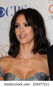 Jessica Alba at the 2010 People's Choice Awards Press Room, Nokia Theater L.A. Live, Los Angeles, CA. 01-06-10