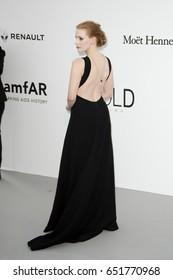 cd759f5dafa Jessica Chastain attends the amfAR Gala Cannes 2017 at Hotel du Cap-Eden-Roc