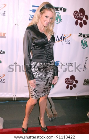 Jessica Drake At The 1st Annual Cuties For Canines Benefit To Raise Awareness Funds For Dogs