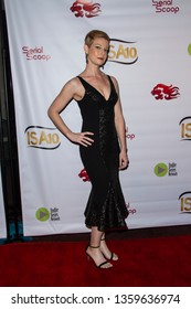 Jessica Green arrives at the 10th Annual Indie Series Awards at The Colony Theatre in Burbank, CA on April 3, 2019.