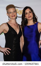 Jessica Green and Nikki Coble arrives at the 10th Annual Indie Series Awards at The Colony Theatre in Burbank, CA on April 3, 2019.