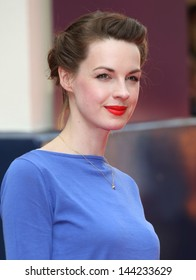 Jessica Raine arriving for the Charlie And The Chocolate Factory Press Night, at Theatre Royal, London. 25/06/2013