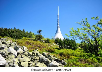 Jested Mountain, Czech Republic, Jested tower, May 2018
