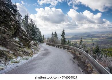 The Jested Mountain near Liberec, Czech Republic, Europe