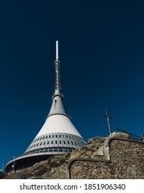 Jested Tower in Jizerske hory - Shutterstock ID 1851906340