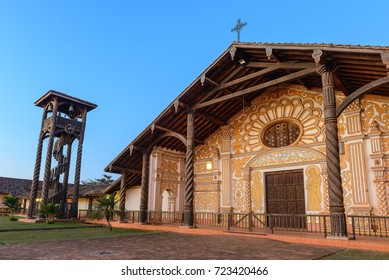 Jesuit Mission church in Concepcion, Bolivia