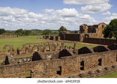 Jesuit Ruins in Trinidad Paraguay