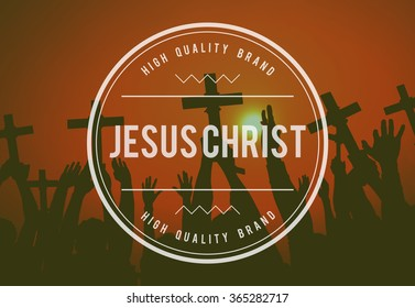 Jesus Christ Religion Believe God Concept