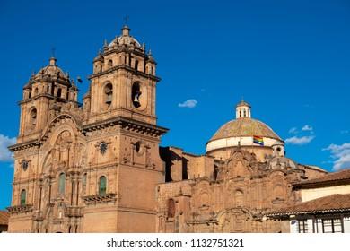 Jesus Company Church, Cusco, Peru.
