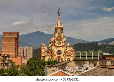 Jesus Nazareno Church In Medellin, Colombia
