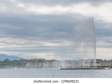 Jet d'eau of Geneva