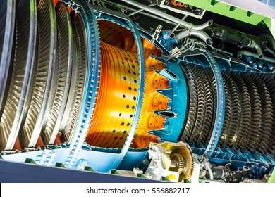 Jet engine inside.