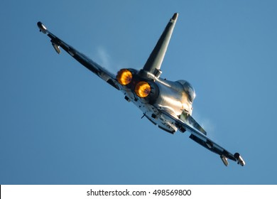 Jet fighter afterburner