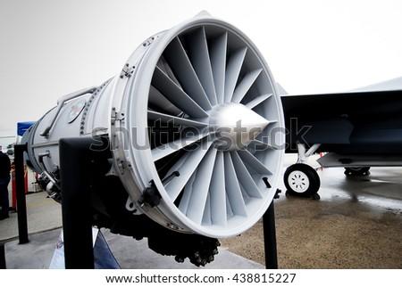 jet plane engine powerful